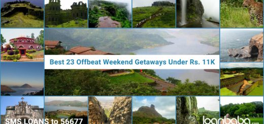 Weekend Getaways Near Mumbai and Bangalore