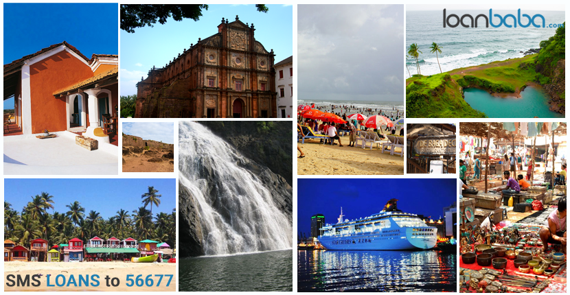 Tourists spots in Goa